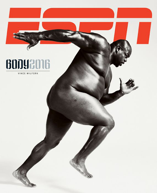 vince wilfork espn the body issue