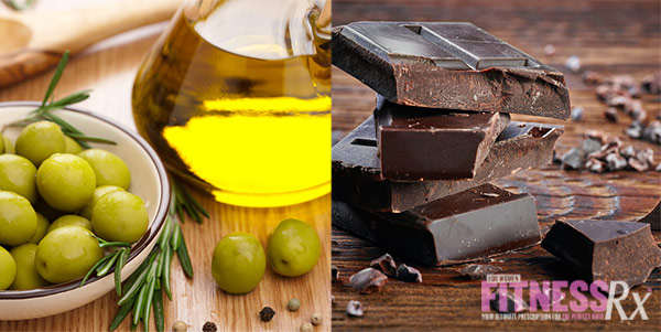 12 Superfoods For A Super You - Olive Oil and Dark Chocolate
