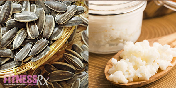 12 Superfoods For A Super You - Sunflower Seeds and Kefir