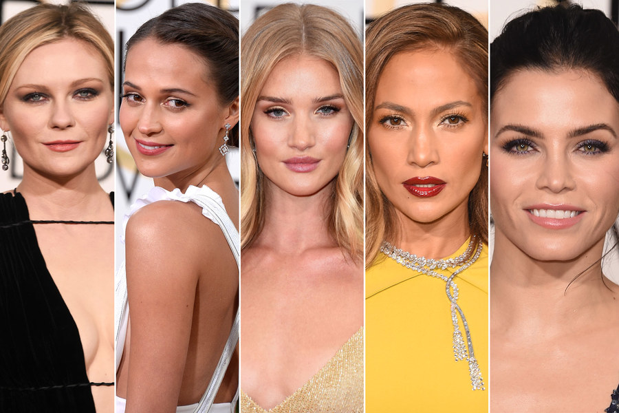 2016 Golden Globes Best Beauty Looks